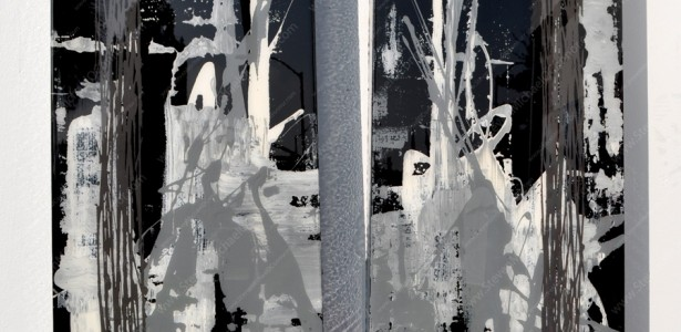Negative Series Diptych #4
